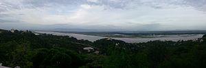 Sagaing - Image: Ayeyarwady River from Sagaing Hill