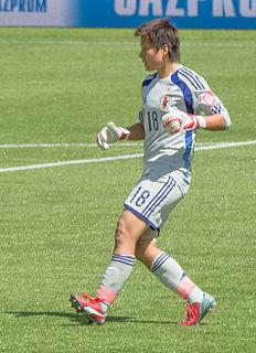 Ayumi Kaihori Japanese footballer