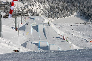 Slopestyle Winter downhill sport discipline