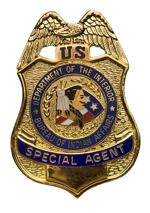Bureau of Indian Affairs Police - BIA Special Agent badge