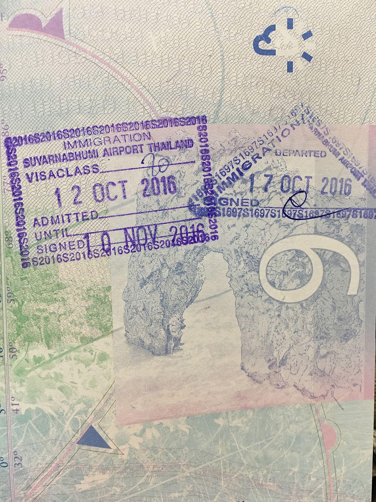 Visa Policy Of Thailand Wikipedia