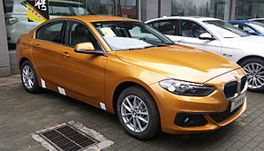BMW 1 Series (F52) - Image: BMW 1 Series F52 01 China 2017 04 05