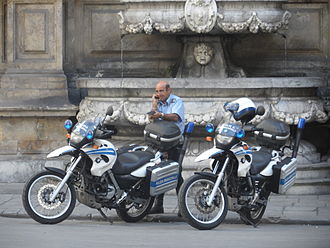 BMW F series single-cylinder - Motorbikes BMW F650 GS Polizia Municipale in Palermo 2013