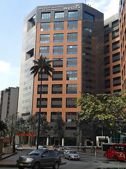 Colombia Stock Exchange Building