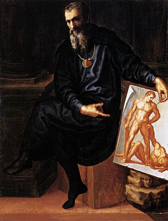Bartolommeo Bandinelli - Self-portrait of Bartolommeo Bandinelli, c. 1530