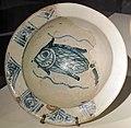 Bacino con pesce, 1175-1225 ca., da mus. s.matteo pisa, già in s.stefano extra moenia.JPG