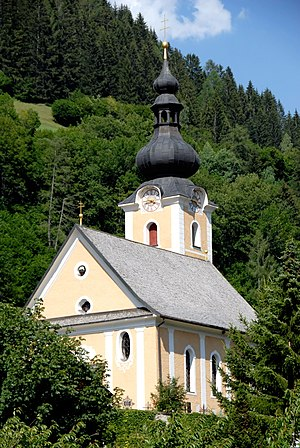 Bad Kleinkirchheim - St Ulrich parish church