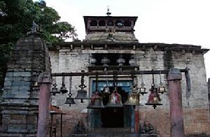 Bageshwar - Bagnath Temple was erected in 1640 by King Laxmi Chand