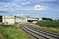 Bahnhof Aschach an der Donau AB Agrana Gleis 3S 4S.JPG