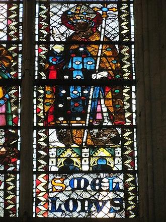 October 22 (Eastern Orthodox liturgics) - Image: Baie chœur 208 Saint Ouen Rouen Mellon