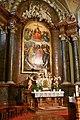 Baja, belvárosi római katolikus templom belső tere 2021 03.jpg