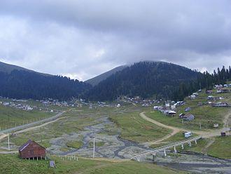 Bakhvistsqali - Bakhvistsqali near Bakhmaro