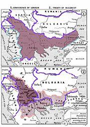 Balkan Wars Boundaries cleanup
