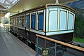 Ballater Station - reproduction of a Victorian railway saloon carriage - geograph.org.uk - 718517.jpg