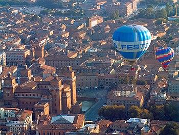 Balloons of the Ferrara Balloons Festival