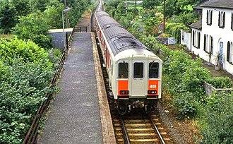 NIR Class 450 - Image: Ballycarry station (1986) geograph.org.uk 1014095