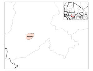 Cercles of Mali - Bamako district