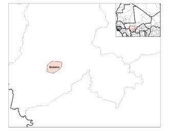 Cercles of Mali - Bamako district