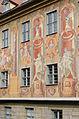 Bamberg, Obere Brücke, Altes Rathaus, Westseite, 20151019-011.jpg
