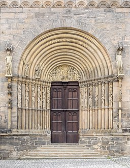 Bamberg Dom Fürstenportal 3087