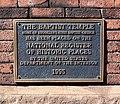 Baptist Temple NRHP plaque jeh.jpg