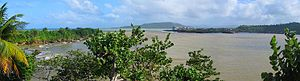 Baracoa - A view of Baracoa across the bay