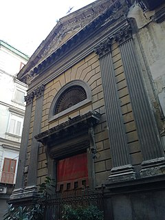 church building in Naples, Italy