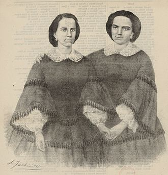 Petite messe solennelle - The sisters Carlotta and Barbara Marchisio, who often appeared together, including the first performance of the mass