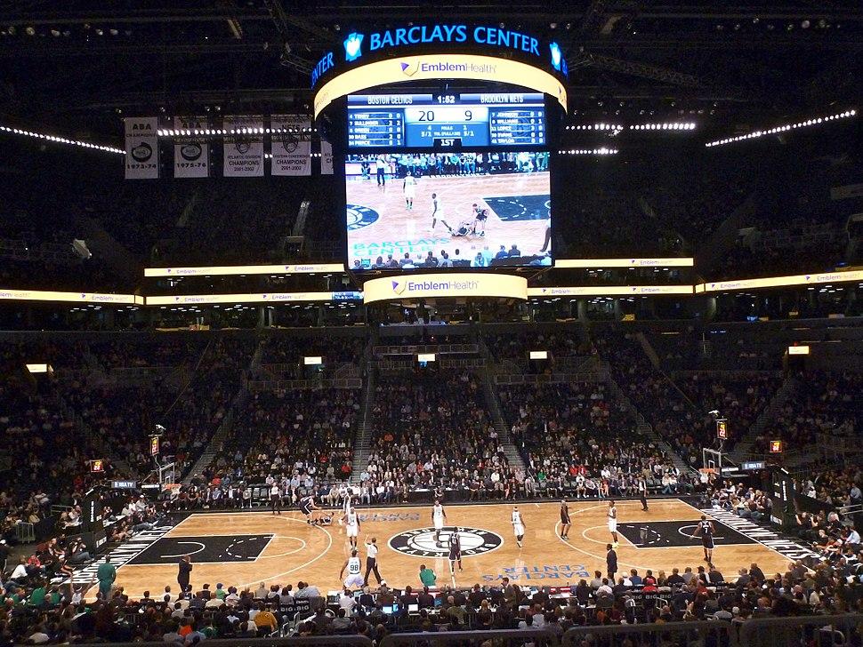 Barclays Center Boston Celtics-Brooklyn Nets 2012