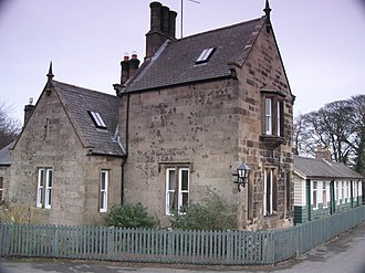 Bardon Mill - The original Bardon Mill railway station