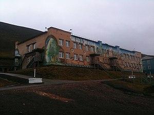Barentsburg - School