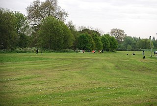 Barn Elms open space in Barnes in the London Borough of Richmond upon Thames