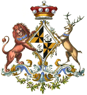 Baron Greenwich - Arms of the Baroness Greenwich.