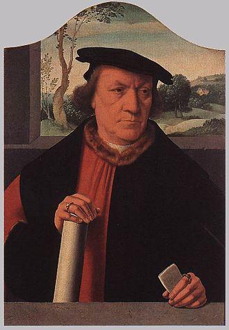 Burgomaster - Arnold von Brauweiler, a German burgomaster, known in German as Bürgermeister