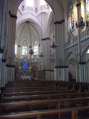 Basilica of Our Lady of Lourdes, Belo Horizonte - Internal View