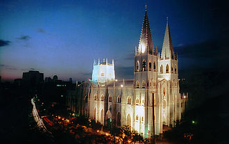Philippine Registry of Cultural Property - San Sebastian Church, the first and only all-steel church in Asia