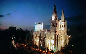San Sebastian Church (Manila) - Image: Basílica de San Sebastián, (Agustinos Recoletos) Manila, Filipinas