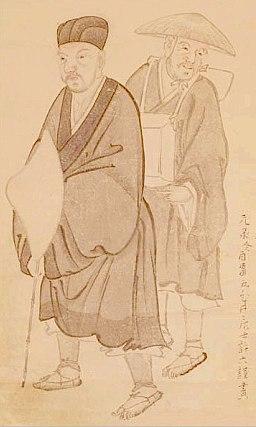 Basho by Morikawa Kyoriku (1656-1715)