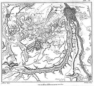 Battle of Lauffeld - Plan of the Battle of Lauffeld
