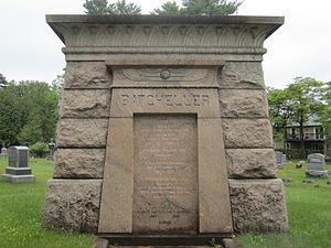 Greenridge Cemetery - Mausoleum of George Sherman Batcheller, Greenridge Cemetery