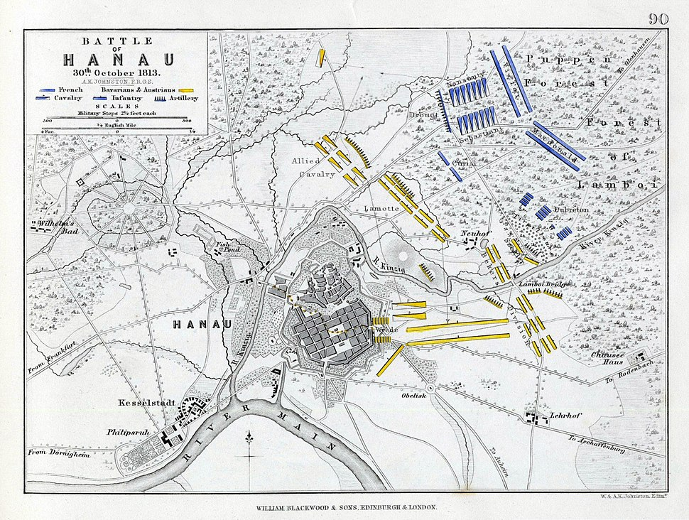 Battle of Hanau 1813