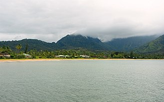 The Descendants - View of the beach used in the film