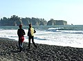 Beach walkers Rialto vsitors people NPS Photo - 8-05 (22477487284).jpg