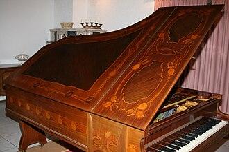C. Bechstein - Bechstein Art Nouveau grand piano, 1902