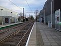 Beddington Lane tramstop look east.JPG
