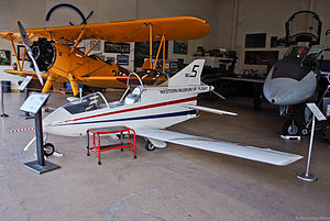 Western Museum of Flight - Bede BD-5 on display at the Western Museum of Flight