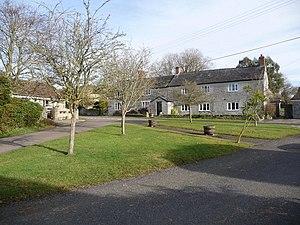 Beercrocombe - Image: Beercrocombe the green geograph.org.uk 1132709