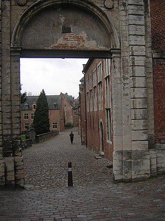 Groot Begijnhof, Leuven - Main entrance gate of the Groot Begijnhof of Leuven
