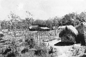 Kowanyama, Queensland - Photo of Kowanyama near its beginnings, taken June 1919