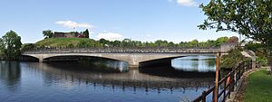 Belleek, County Fermanagh - Bridge connecting Northern Ireland to the Republic of Ireland